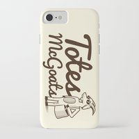 totes iPhone & iPod Cases featuring Totes McGoats by Scoggz