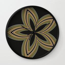 Fractal Star Aura in CMR 01 Wall Clock