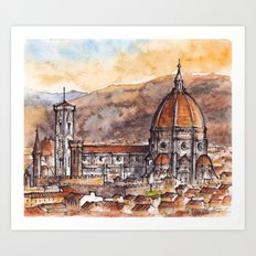 Florence, Italy Art Print