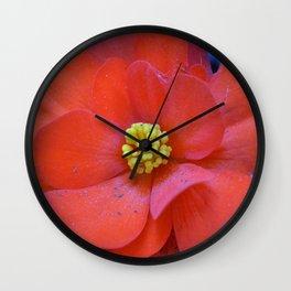 F l o u w e r Wall Clock