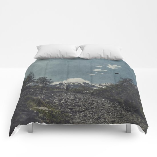 Hike a Mountain! Comforters