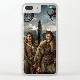 Clexa - New World Clear iPhone Case