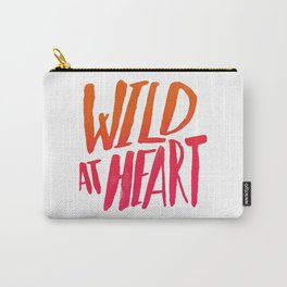 Wild At Heart x Typography Flame Ombre Carry-All Pouch