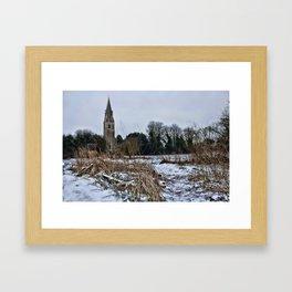 St Mary's Langley Framed Art Print