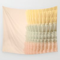 cupcake Wall Tapestries featuring Cupcake by Melissa Lund