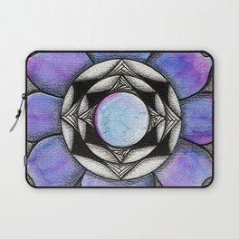 Doodled Gem Bloom Laptop Sleeve