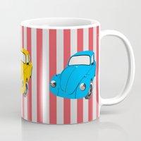 car Mugs featuring car by vitamin