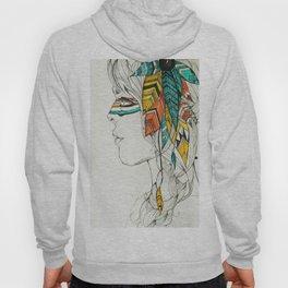 Native Woman Hoody