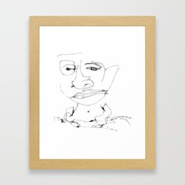 Th boy Framed Art Print