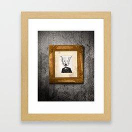 My name is not Harry Heller (No me llamo Harry Heller) Framed Art Print