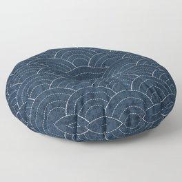 Sashiko Pattern Floor Pillow