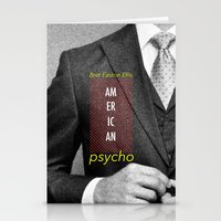 american psycho Stationery Cards featuring american psycho  by Andy Torres