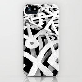 Papercutting test 2 iPhone Case