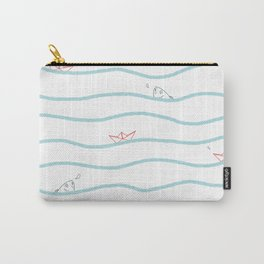 Paper boats Carry-All Pouch