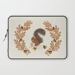 Pumpkin Spice Squirrel Laptop Sleeve