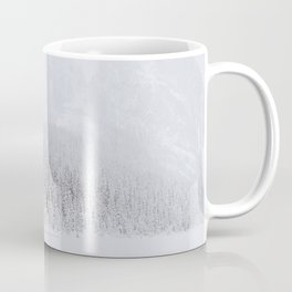 blinded by the white // lake louise Coffee Mug