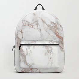 Rosey Marble Backpack