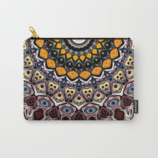 Colorful Balance of Shapes Carry-All Pouch