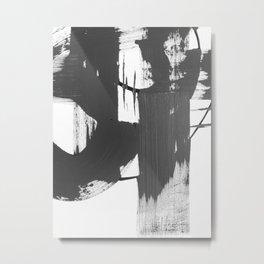 Black and White Gallery Art Metal Print