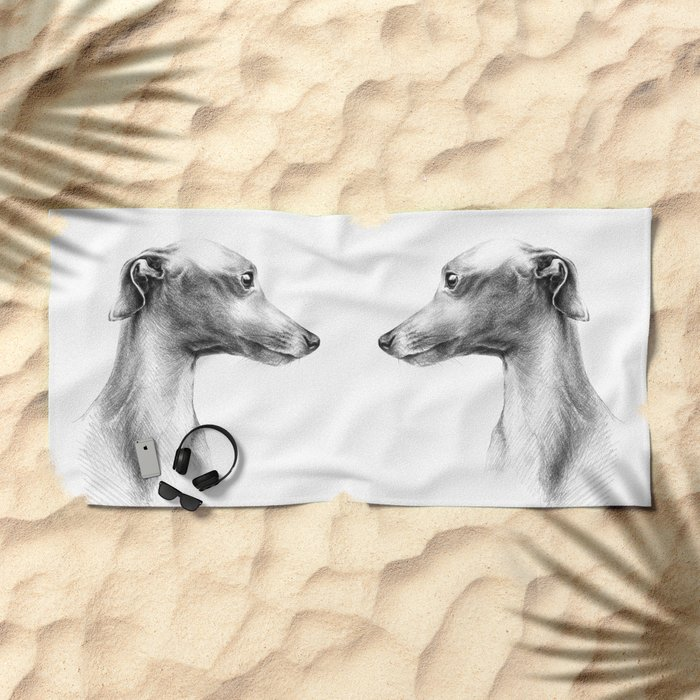 Delicate Beach Towel
