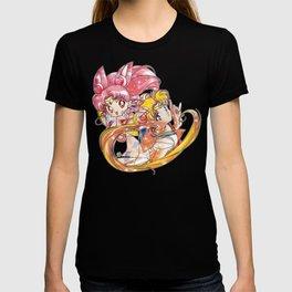 Super Sailor Moon & Chibi Moon (edit 2/A) T-shirt