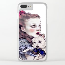 Dorothy and Toto Clear iPhone Case