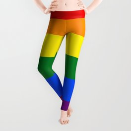 Pride Rainbow Colors Leggings