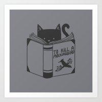 to kill a mockingbird Art Prints featuring To Kill a Mockingbird by Tobe Fonseca