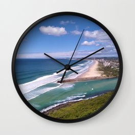 Ocean Views Wall Clock