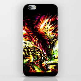 Metroid Metal: Ridley- Through the Fire.. iPhone Skin