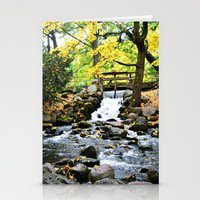 waterfall Stationery Cards featuring Waterfall by Juliana RW