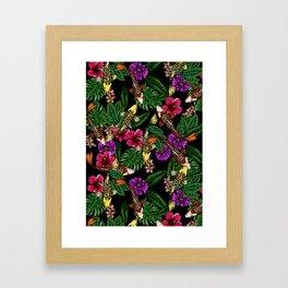 Tropical Koi Framed Art Print