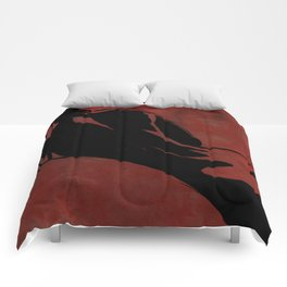 In Red Comforters
