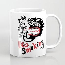 No Smoking - Monster Coffee Mug