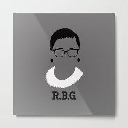 RBG Metal Print