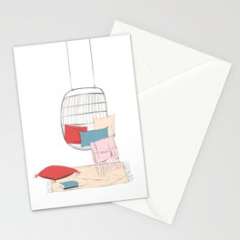 Summer chill Stationery Cards