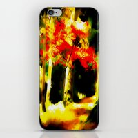redhead iPhone & iPod Skins featuring Redhead by Nev3r