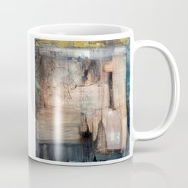 Fracture (oil on canvas) Coffee Mug