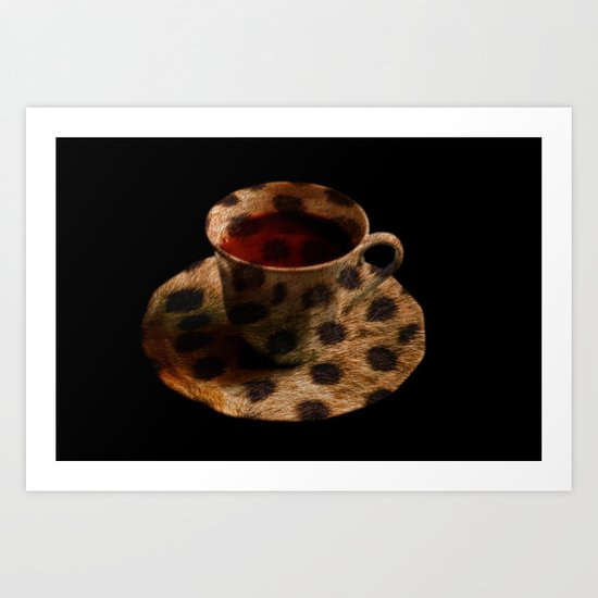 CHEE-TEA Art Print