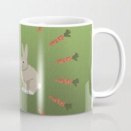 Carrots and Rabbits Coffee Mug