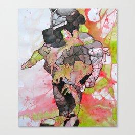 Dino-man Canvas Print