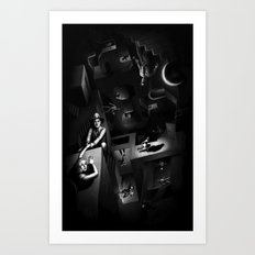Impossible Chase Art Print