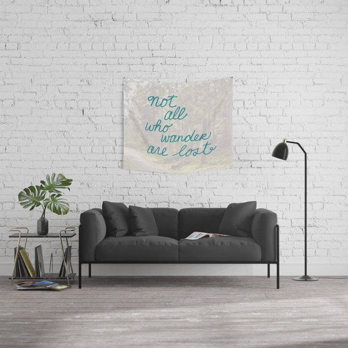 Time to Wander Wall Tapestry