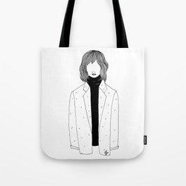 La fille sans visage °2° Tote Bag