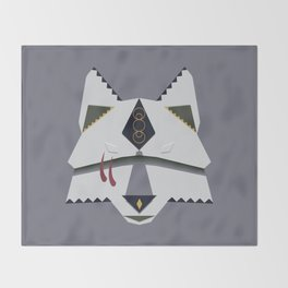 Wolf Spirit Throw Blanket