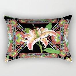 Gilding the Lily Rectangular Pillow