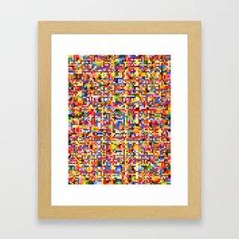Uplink Detail Framed Art Print
