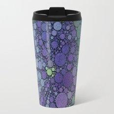 Percolated Purple Potato Flower Travel Mug
