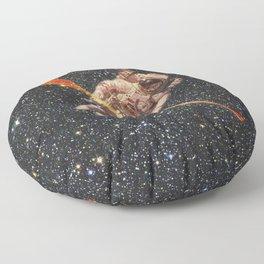 space oarsman Floor Pillow