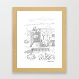 beegarden.works 007 Framed Art Print